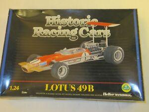 HELLER HUMBROL LOTUS 49B  No. 080749   1/24 model kit - Historic racing cars