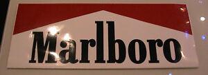 Großer Aufkleber Zigaretten Werbung Marlboro Schrift aus 80er Jahre TOP a - Deutschland - Großer Aufkleber Zigaretten Werbung Marlboro Schrift aus 80er Jahre TOP a - Deutschland