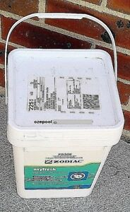 OXYFRESH-Sanitizer-for-IONISER-POOLS-10-kg-Product-Bucket-Best-way-to-buy