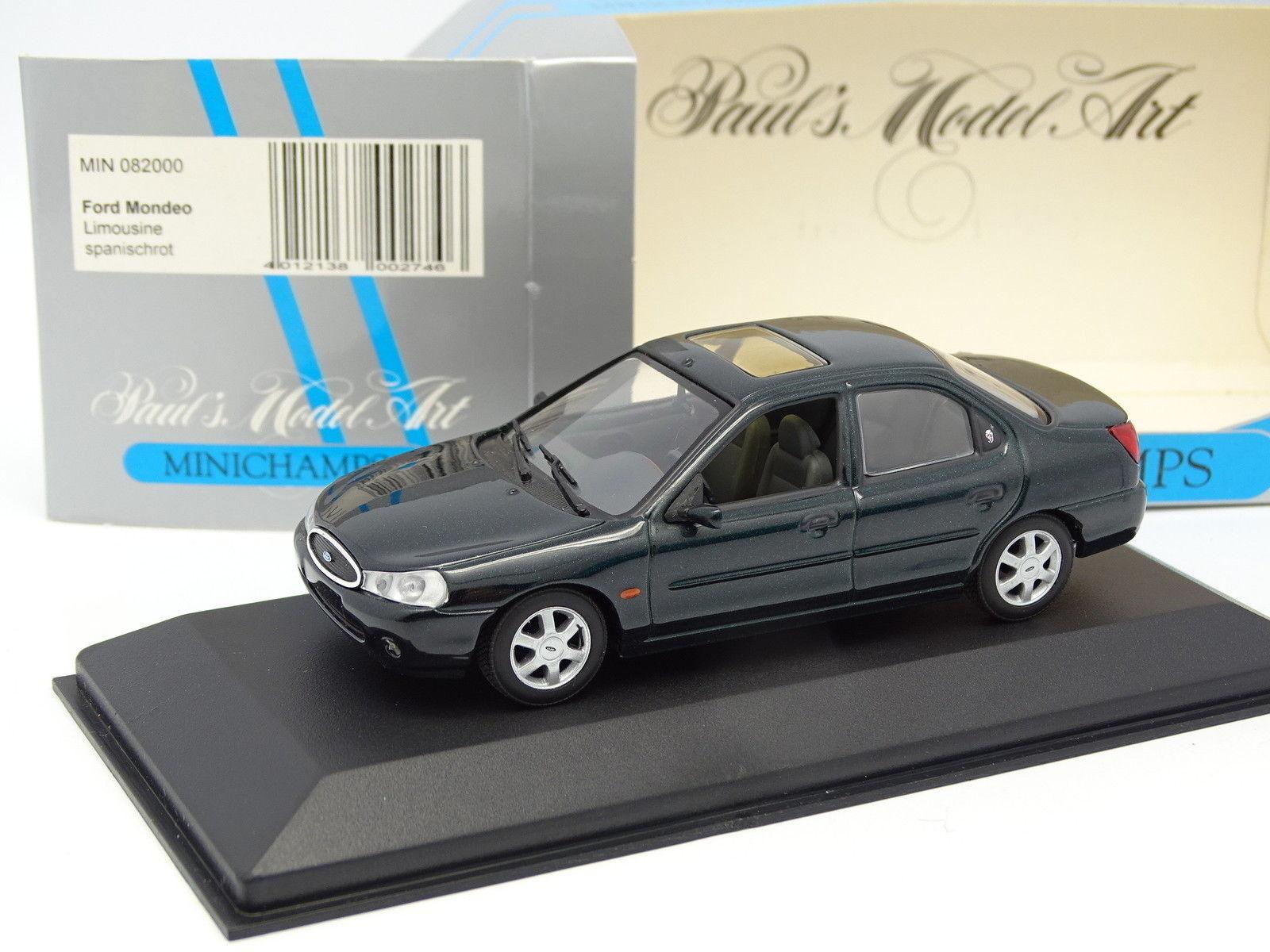 Minichamps 1 43 - Ford Mondeo 1993 4 Portes Verte