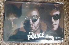 The Police Band Metal Sign Painted Poster Comics Book Superhero Wall Decor Club