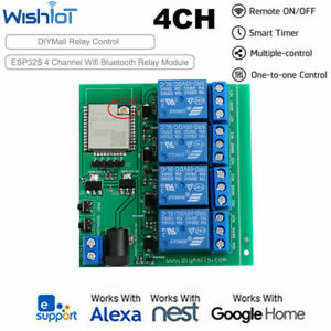 4-Channel-Remote-Switch-Wifi-Bluetooth-Relay-Module-Built-in-ESP32S-For-Android