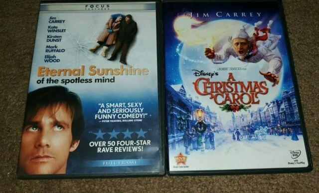 Eternal Sunshine of the spotless light Disney A Christmas Carol Jim Carrey Lot   eBay