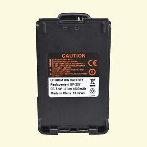 BP-227-1800mAh-Li-ion-Battery-For-ICOM-F50-F51-M87-M88-V85-Walkie