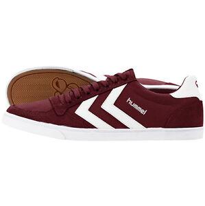 Hummel-testa-Stadil-Low-Top-Sneaker-Scarpe-Cabernet-63-512-3661-pallamano