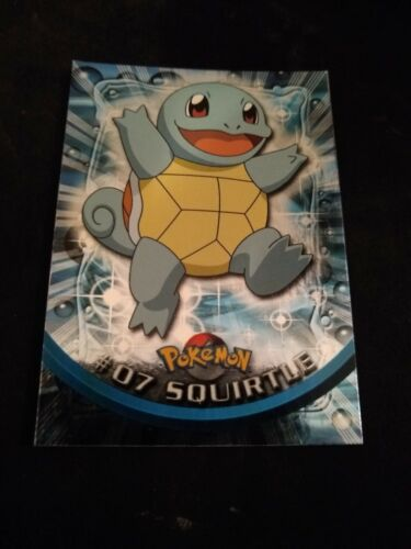 Holo Series 1-1st Printing Pokemon Topps Trading Cards Animation Edition