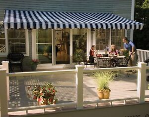 11 Sunsetter Vista Awning With Acrylic Fabric By Sunsetter Awnings