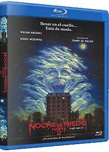 FRIGHT-NIGHT-2-1988-Roddy-McDowall-Blu-Ray-Sealed-Region-B-for-UK