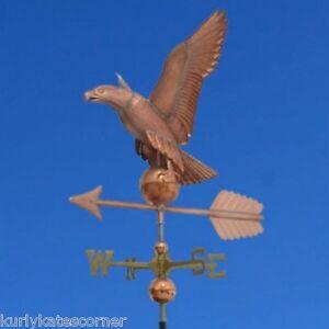 AMAZING-COPPER-034-EAGLE-034-WEATHERVANE-MADE-IN-USA-356