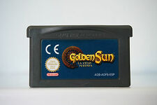Golden sun la edad perdida en español gameboy advance game boy GBA  ESP DC1082