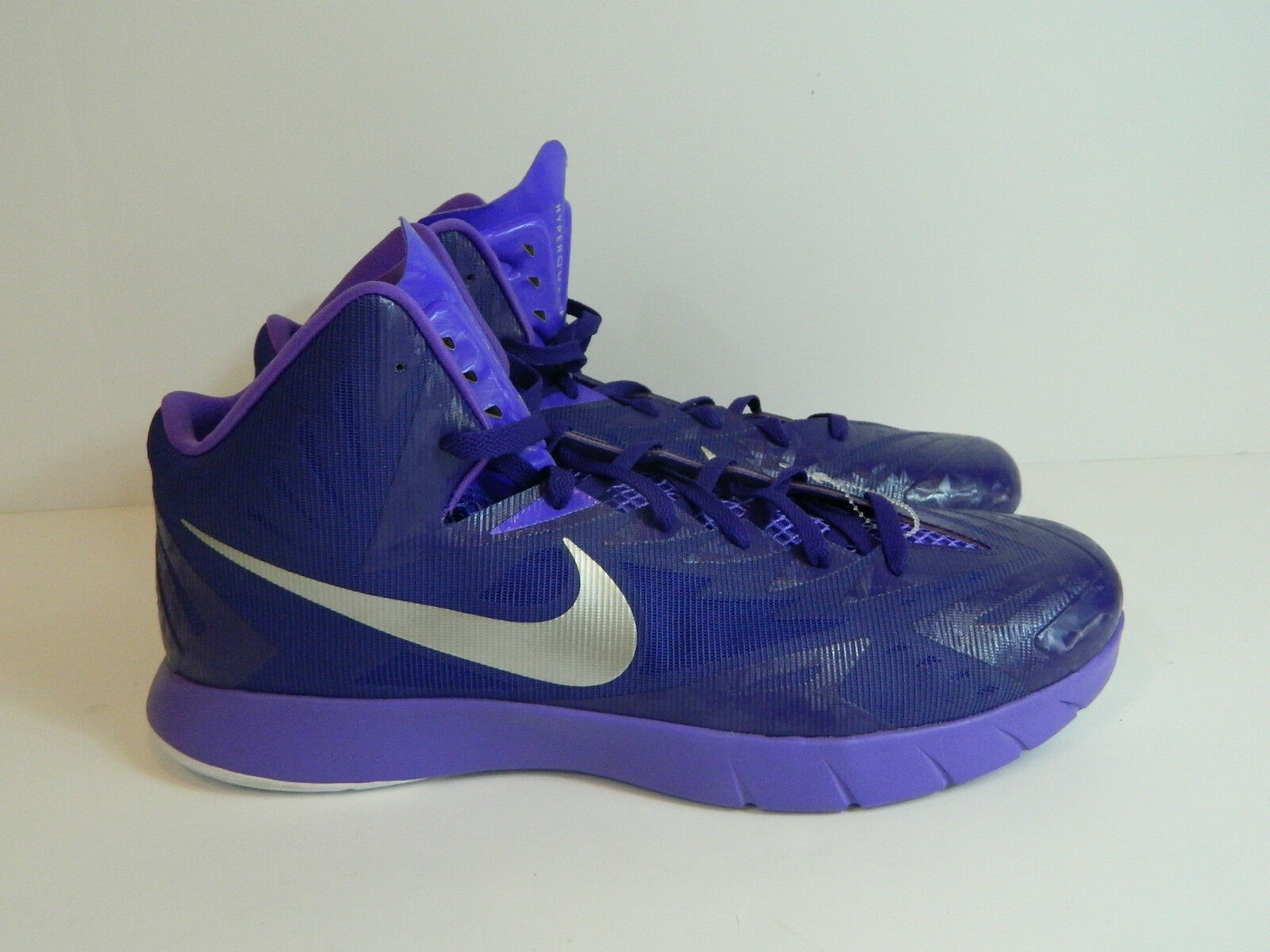 42dc16593691 ... Nike Lunarlon Hyperquickness Basketball Shoes Sneakers Purple Size 17  NWOB bbaa19 ...