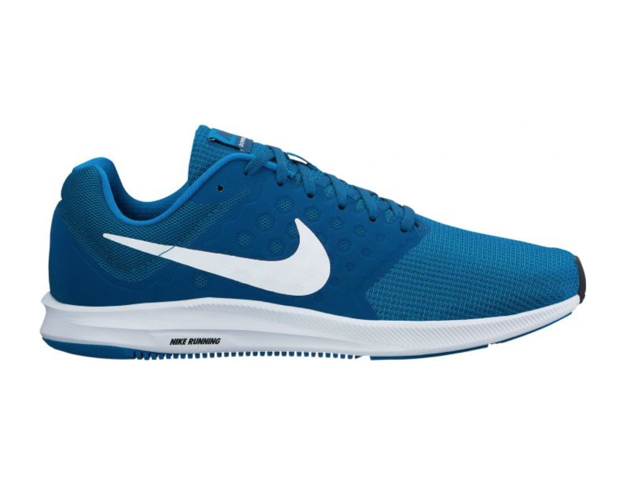 NIKE DOWNSHIFTER 7 GREEN ABYSS/WHITE-BLUE FORCE