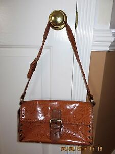 Image Is Loading Vintage Rare Mc Marc Chantal Leather Leaf Purse