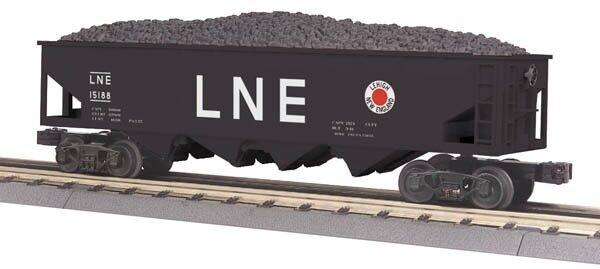 2012 Mth 30-75416 Lehigh & New England 4 Bay vagón Tolva Nuevo En La Caja