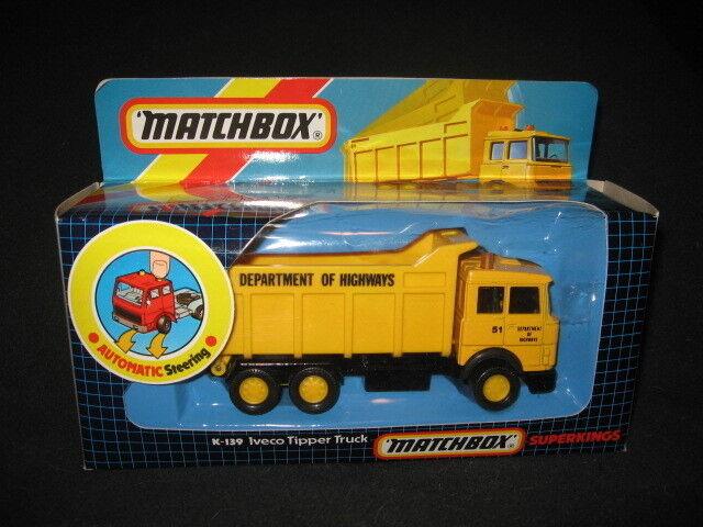 MATCHBOX SUPERKINGS K-139 Dept of Highways Camion