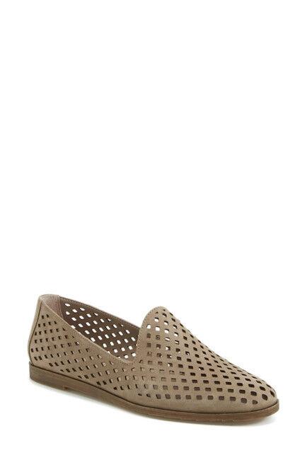 economico NEW donna scarpe Franco Sarto 'Frontier' Perforated Leather Flat Flat Flat 9 Marrone  designer online
