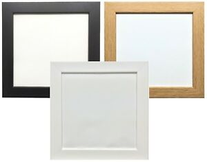 image is loading black oak white square photo amp picture frames - White Square Frames
