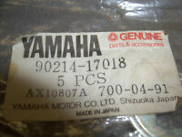 Yamaha Snowmobile Claw Washer 90214-17018 Phazer 480 500 Venture 0671