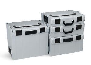 L-Boxx-Koffersystem-Bosch-Sortimo-Sortimentskasten-Werkzeugkoffer-L-Boxx-grau