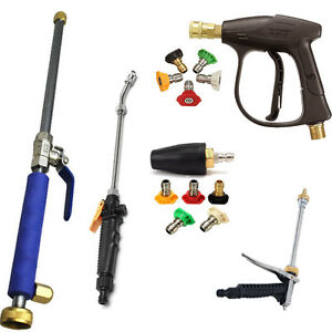 Image Is Loading Garden Hose High Pressure Spray Wand Attachment Kit
