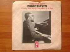 ISAAC HAYES / vinyl 45rpm single / I DON'T WANT TO BE RIGHT