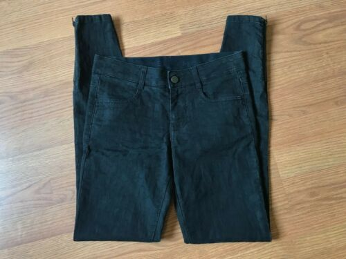 Skinny Italia Slim 25 Animal Mccartney Zip Stella Moto X Jeans Nero Ankle 28 R4EvqH