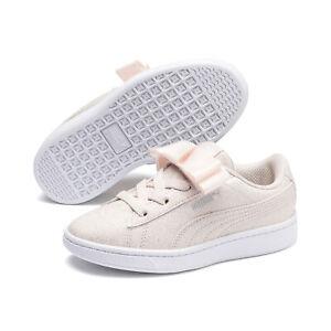 PUMA-Vikky-v2-Ribbon-Glitz-Little-Kids-039-Shoes-Girls-Shoe-Kids