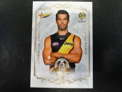 Sports Trading Cards 2017 Afl Select Footy Stars Brownlow Predictor Bp111 Alex Rance Richmond 189/275 Australian Football Cards