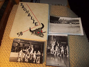 1958-IRENE-S-REED-HIGH-SCHOOL-YEARBOOK-SHELTON-WA-034-SAGHALIE-034-PLUS-EXTRAS