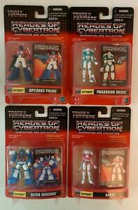 Transformers Heroes Of Cybertron Autobot 4 figure lot~Optimus Prime, Arcee more