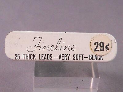 Sheaffer F Lead Short thick  l.lmm-24 sticks to tube
