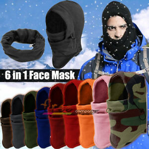 Winter-Warm-6-in1-Fleece-Thermal-Balaclava-Hood-Swat-Ski-Cycling-Face ...