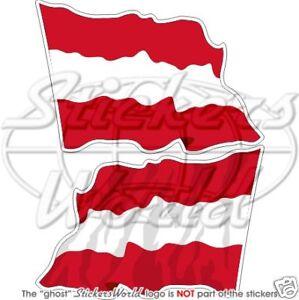 AUSTRIAN-Flying-Flag-AUSTRIA-Bumper-Stickers-12cm-4-7