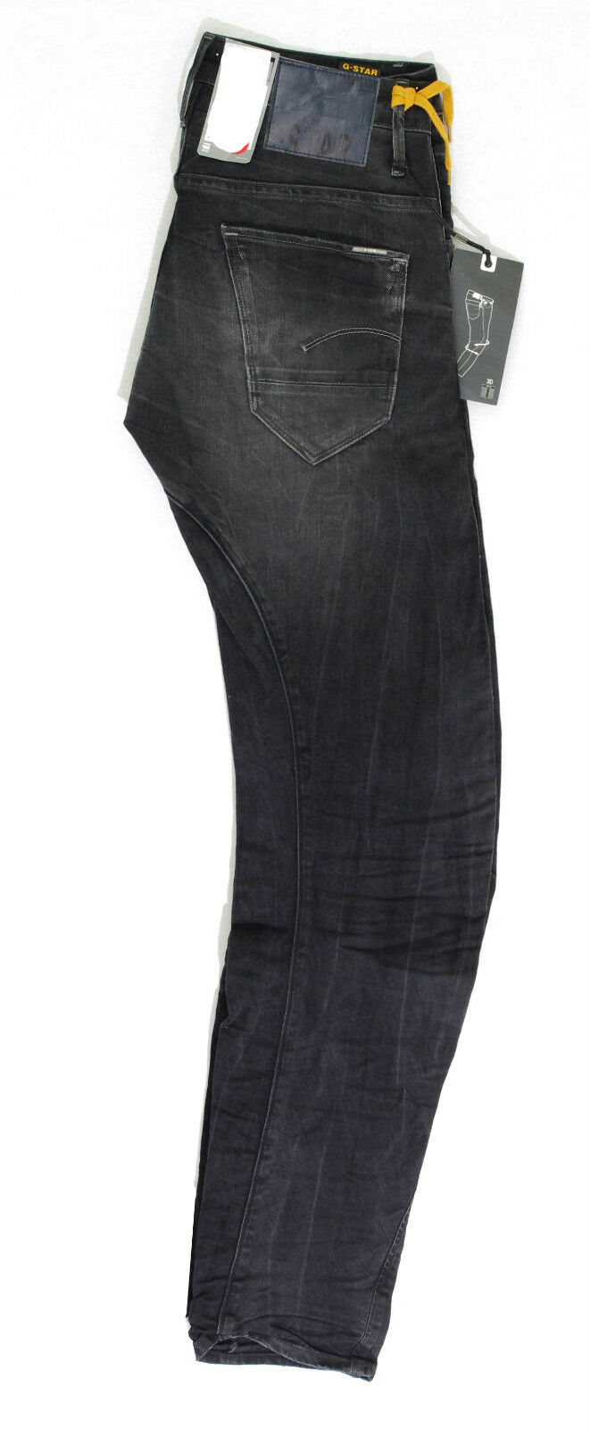 G STAR RAW jeans jeans jeans ARC 3D Slim Dark Aged grigio used homme 50783 5758 89 0fc3e7