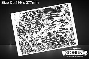 Struktur-Effekt-Dirty-Ground-Airbrush-Schablone-Stencil