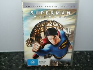 Superman-Returns-DVD-2-Disc-Set-Region-4-VGC