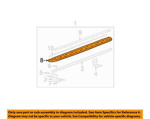 gm oem exterior step cover right 15185819 ebay rh ebay com