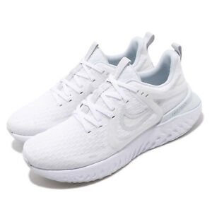 Details about Nike Legend React 2 White Grey Womens Running Shoes AT1369 100