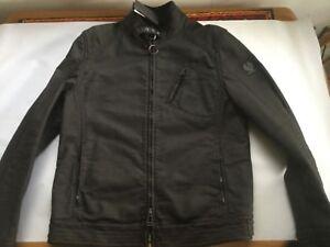 New-Belstaff-H-Racer-Jacket-Rubberised-Jersey-XL-RRP-495