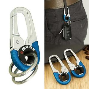 Titanium Alloy Outdoor Hanging Buckle Hook Keychain Ring Quickdraw Key EDC J2P1