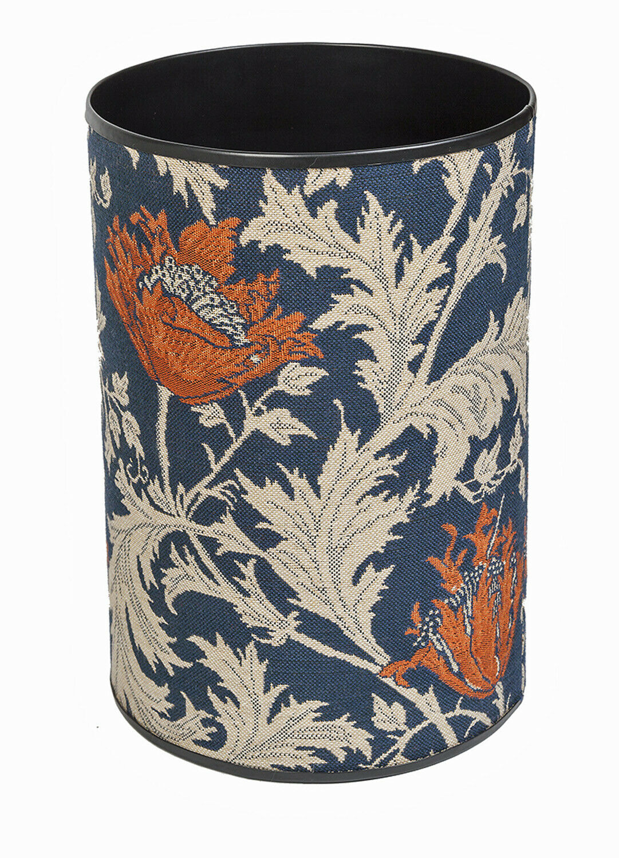 William Morris Anemone Tapestry Waste Paper Bin