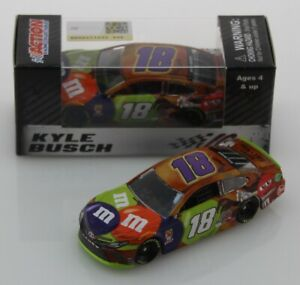 2019 KYLE BUSCH #18 M&M's Halloween 1:64 Action In Stock Free Shipping