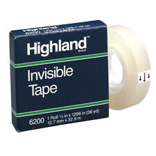 Highland Highland Invisible Tape 12x1296in