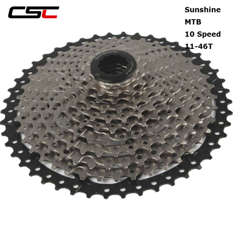 10s 11-46T Wide Ratio Mountain Bike Freewheel MTB Bicycle Cassette Flywheel