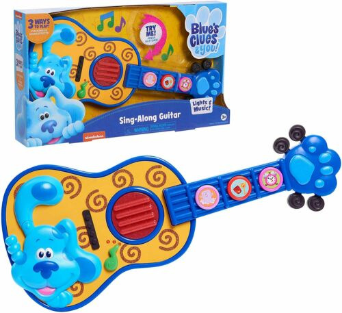 Blues Clues and You Sing Along GUITAR Music Show 2020 Sound Effects Lights up