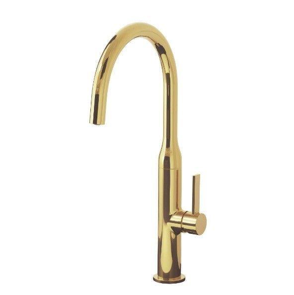 IKEA NYVATTNET Mischbatterie,  Küche Armatur, Wasserhahn für Spüle, Messing