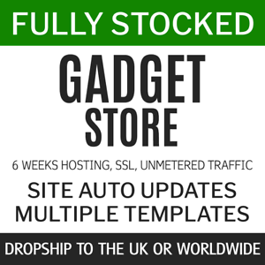 Dropship-Gadgets-UK-World-Fully-Stocked-eCommerce-Store-Website-6w-service