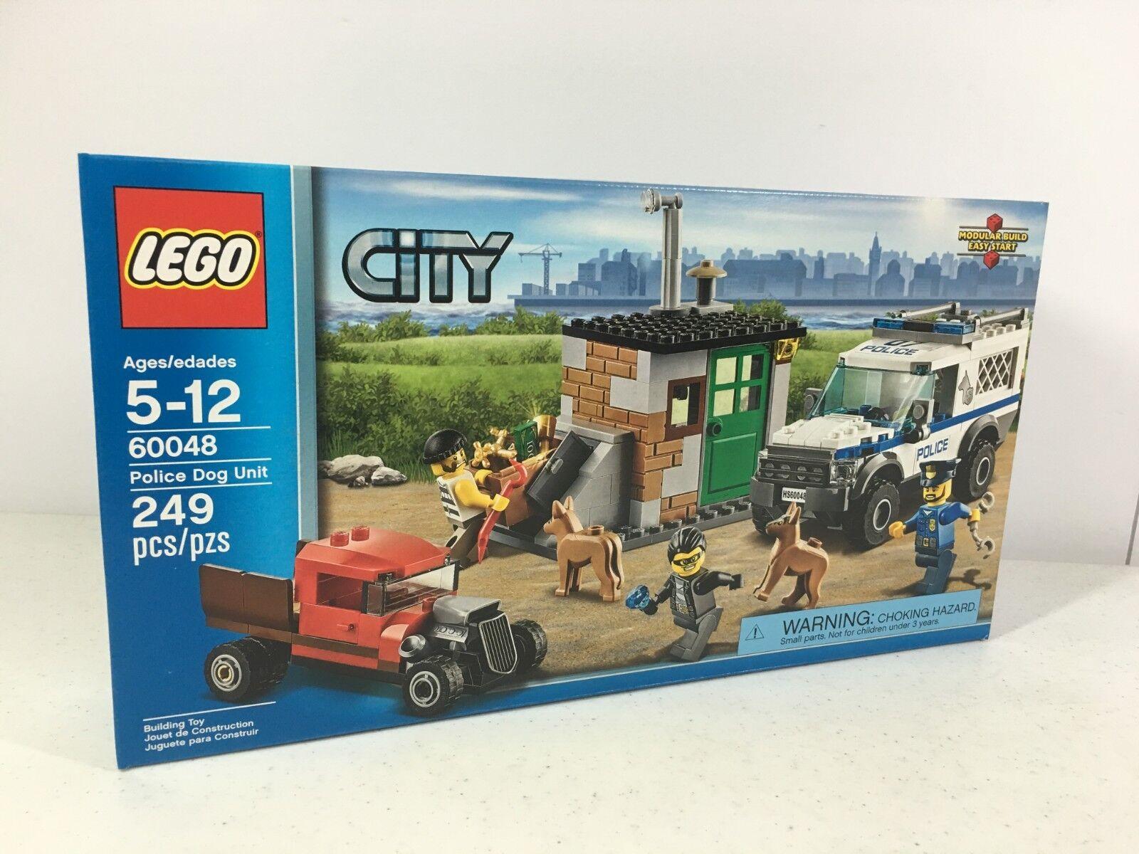 Lego City 60048 Police Dog Unit 249 Pieces RetiROT Set