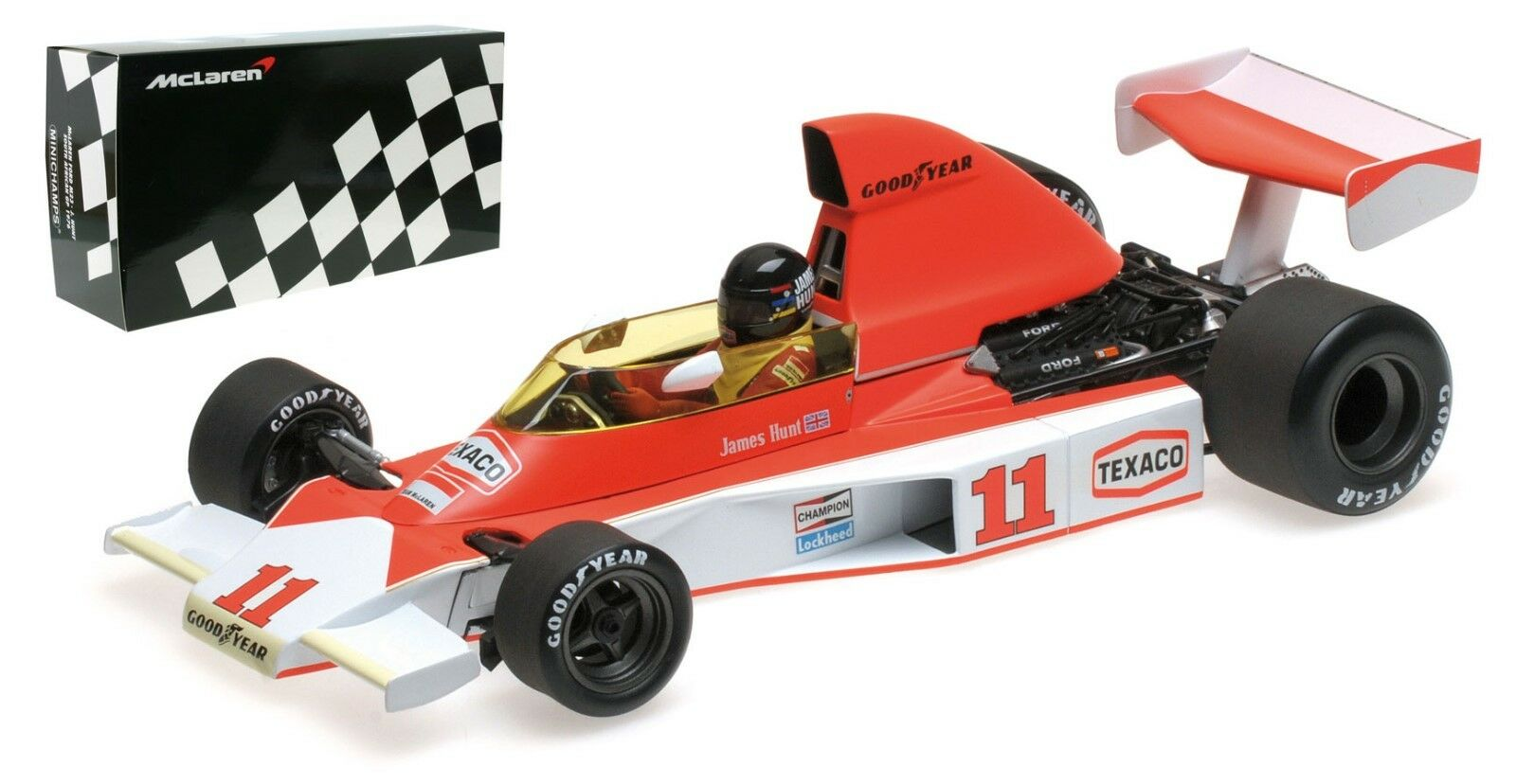 Minichamps McLaren M23 South African GP 1976-James Hunt échelle 1 18