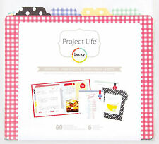 Project Life RECIPE PAGES 6x8 FILLER PACK scrapbooking DIVIDERS & PAGES 97723